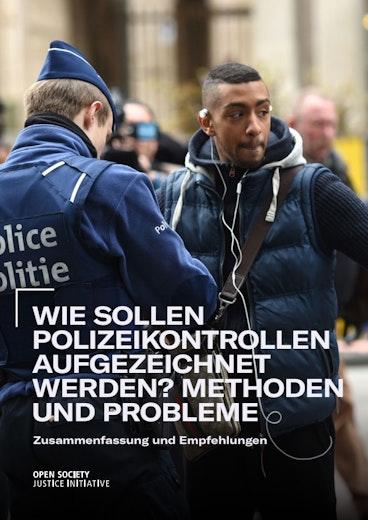 First page of PDF with filename: wie-sollen-polizeikontrollen-aufgezeichnet-werden-032020.pdf