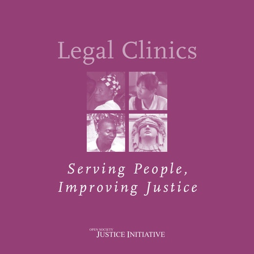 First page of PDF with filename: legalclinics_20090101.pdf