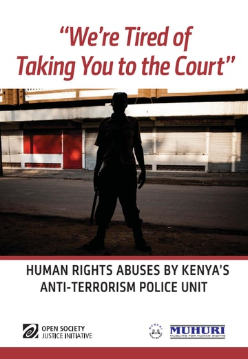 First page of PDF with filename: human-rights-abuses-by-kenya-atpu-20140220.pdf