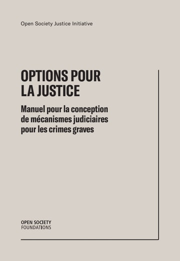 First page of PDF with filename: options-justice-fr-preface-chapitres1-2-20181205.pdf