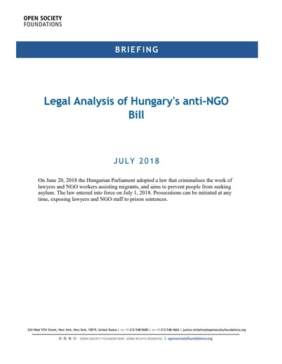 First page of PDF with filename: briefing-hungary-lexngo-update-20180705.pdf