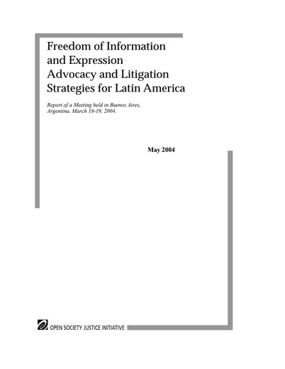 First page of PDF with filename: latinamerica_20040501.pdf