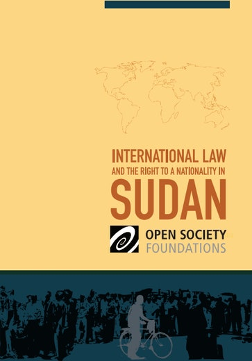 First page of PDF with filename: sudan-nationality-20110218.pdf
