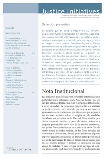 First page of PDF with filename: detencionpreventiva-20080513_0.pdf