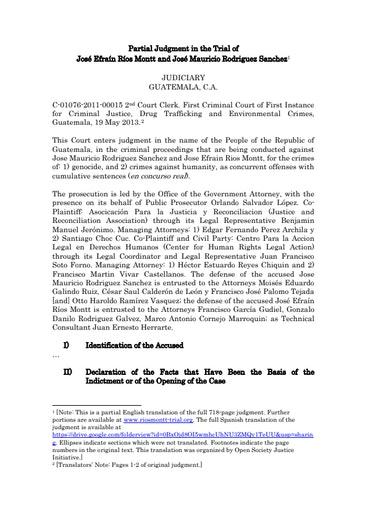 First page of PDF with filename: rios-montt-judgment-full-version-11072013_2.pdf