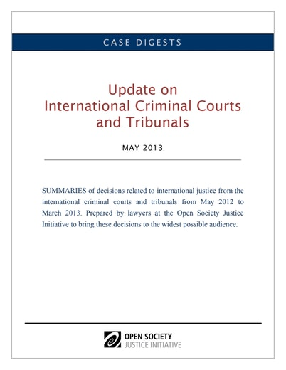 First page of PDF with filename: case-digests-international-criminal-courts-20130606_0.pdf