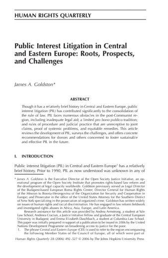 First page of PDF with filename: publicinterest_20060601.pdf