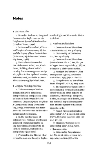 First page of PDF with filename: z_endnotes_20091009_0.pdf