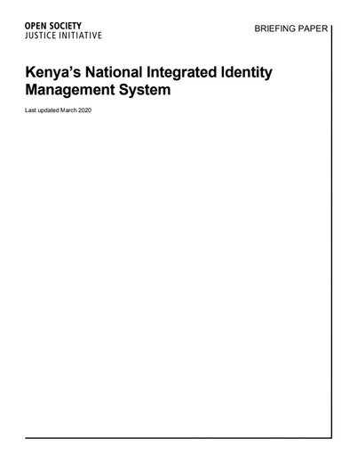 First page of PDF with filename: briefing-kenya-niims-03232020.pdf
