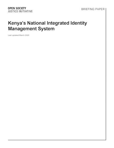 First page of PDF with filename: briefing-kenya-niims-03232020.pdf