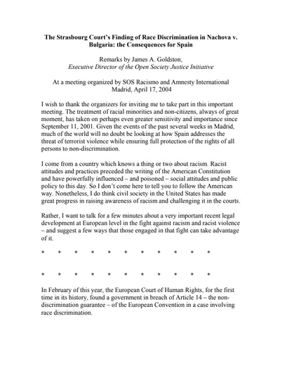 First page of PDF with filename: discrimination_20040417.pdf