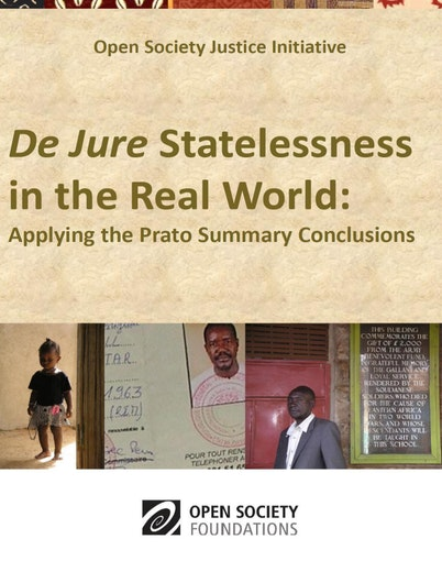 First page of PDF with filename: prato-statelessness-20110303.pdf