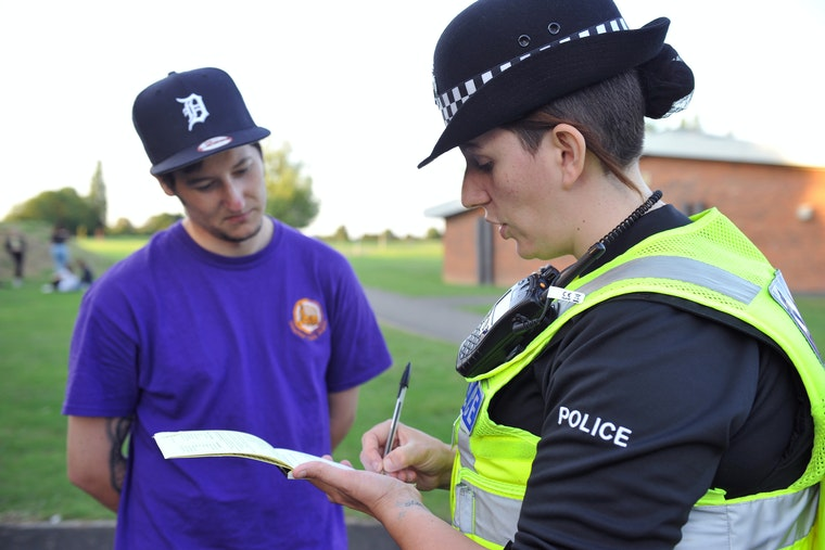 Police perform stop and search in Northamptonshire