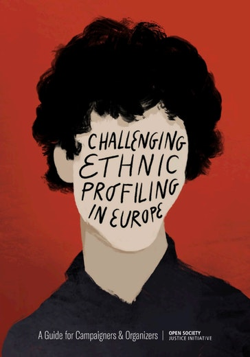 First page of PDF with filename: challenging-ethnic-profiling-in-europe-april-2021.pdf