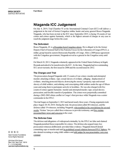First page of PDF with filename: factsheet-ntaganda_judgment-2019_07_02-(1).pdf