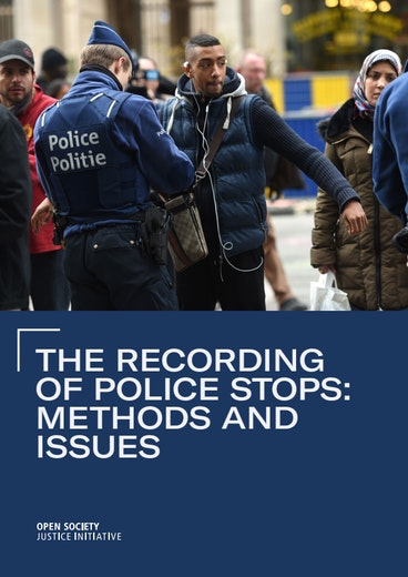 First page of PDF with filename: the-recording-of-police-stops-methods-and-issues-20200302.pdf