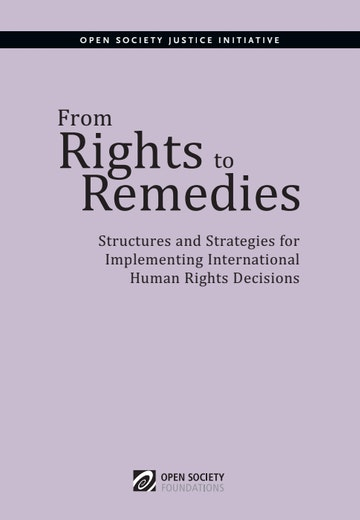 First page of PDF with filename: from-rights-to-remedies-20130708.pdf