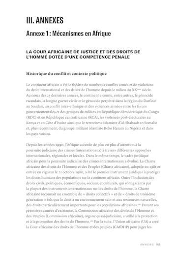 First page of PDF with filename: options pour la justice-fr-afrique-20181205.pdf