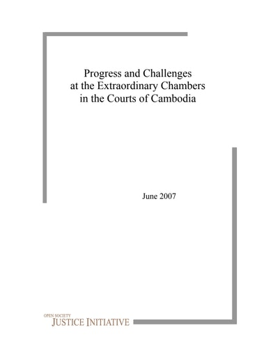 First page of PDF with filename: cambodia_20070627.pdf
