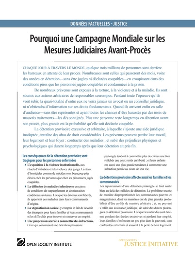 First page of PDF with filename: w-global-campaign-flyer-french-2009090903_0.pdf