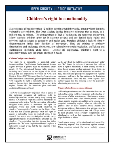 First page of PDF with filename: children-nationality-20110624.pdf