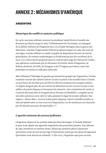 First page of PDF with filename: options pour la justice-fr-americas-20181205.pdf