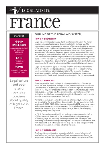 First page of PDF with filename: eu-legal-aid-france-20150427.pdf