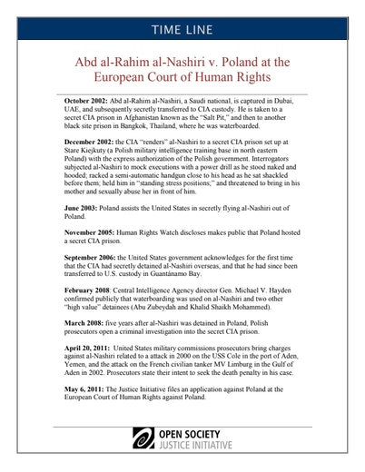 First page of PDF with filename: nashiri-echr-timeline-11252013_0.pdf