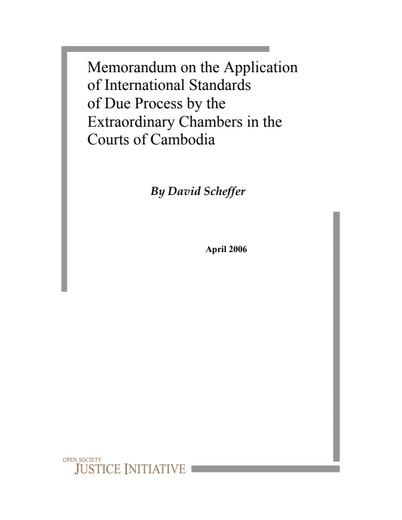 First page of PDF with filename: cambodia_20060401.pdf
