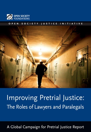 First page of PDF with filename: improving-pretrial-justice-20120416.pdf