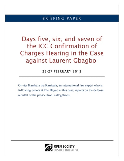 First page of PDF with filename: Gbagbo-confirmation-day5-7-eng-02272012.pdf