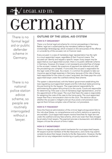 First page of PDF with filename: eu-legal-aid-germany-20150427.pdf