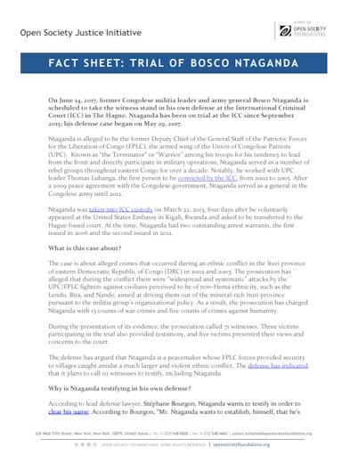First page of PDF with filename: factsheet-ntaganda-testimony-20170609_0.pdf