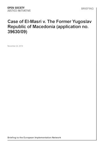 First page of PDF with filename: briefing-com-elmasri-20191126.pdf