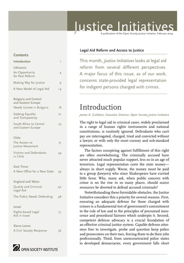 First page of PDF with filename: justice_initiatives_20040225_2.pdf