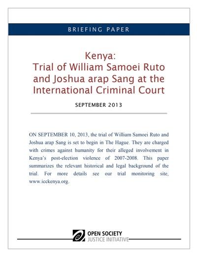 First page of PDF with filename: briefing-paper-kenya-ruto-sang- 20130909.pdf
