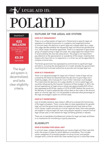 First page of PDF with filename: eu-legal-aid-poland-20150427.pdf