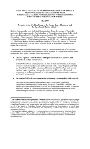 First page of PDF with filename: cambodia_20040501.pdf